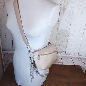 NWT Steve Madden | 'Ida' Shoulder Belt Bag | Nude